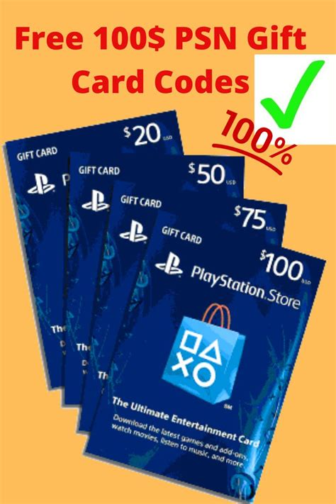 As to why don't i just try and see its because i don't have the card. Free Playstation 100$ Gift Card Codes   Free gift cards online, Ps4 gift card, Amazon gift card free