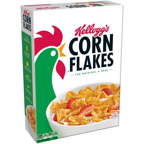 kellogg s corn flakes breakfast cereal original 24 oz