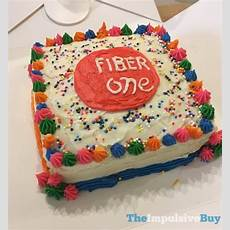 Review Fiber One Limited Edition Birthday Cake Baked Bar
