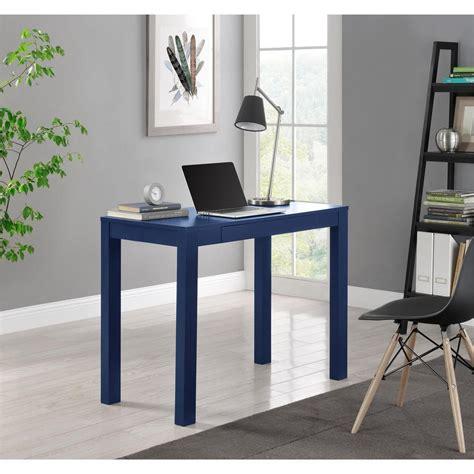 parsons mini desk navy altra furniture parsons navy desk 9859496com the home depot