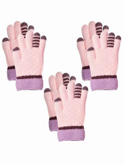 Gloves Winter Boys Knit Cold Classic Walmart
