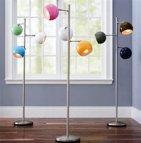 modern floor lamps  colorful ideas