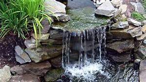 Fontaine Pour Bassin A Poisson : cascade pour bassin ~ Voncanada.com Idées de Décoration