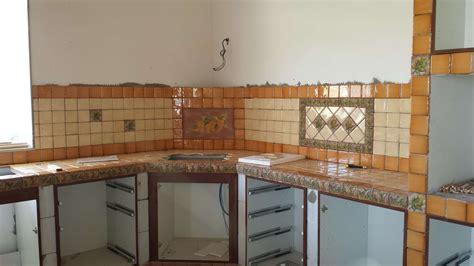 costruire una come realizzare una cucina in muratura fai da te