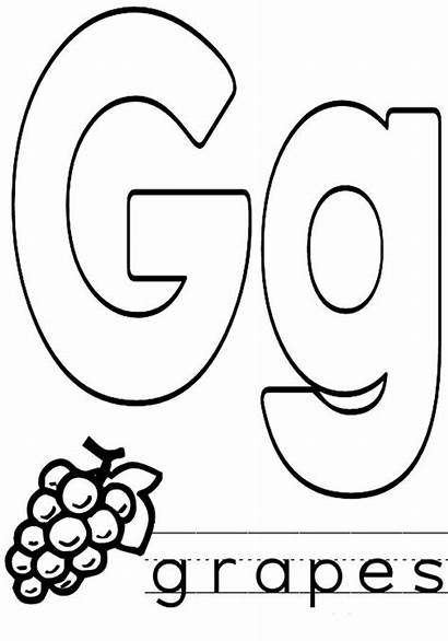 Coloring Letter Pages Alphabet Letters Lowercase Numbers