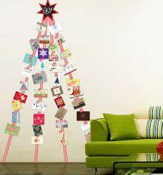 Christmas Card Display on Pinterest
