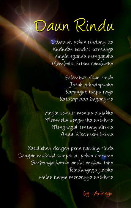 sajak rindu kumpulan puisi rindu untuk pacar bergambar terbaru cinta
