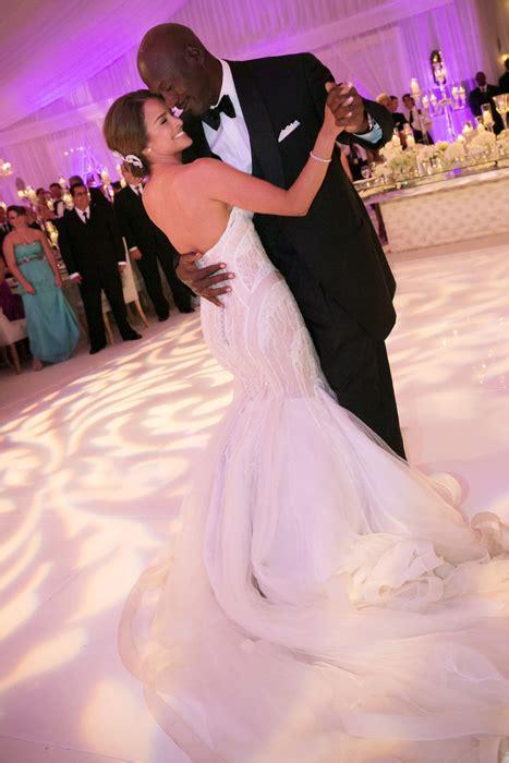 details  michael jordans wedding  yvette prieto