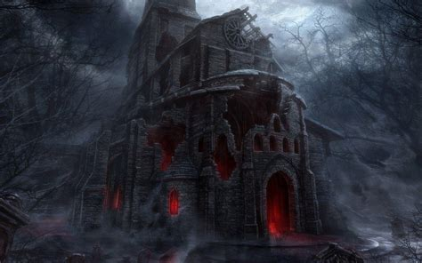 Scary Castle Wallpapers - Wallpaper Cave