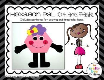 shape craft hexagon pal  images shape crafts
