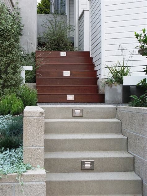 outdoor stairs ideas  beautiful exterior