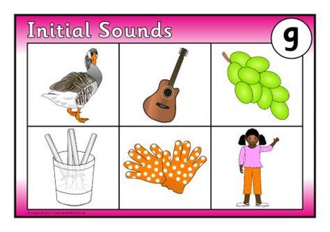initial sounds bingo