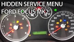 Ford Fiesta Mk7 Hidden Menu