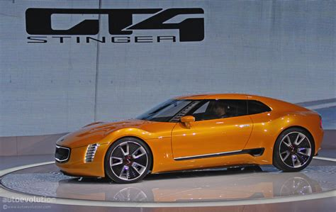 Kia Gt4 Stinger Concept Is A Sexy Korean Toyobaru [live