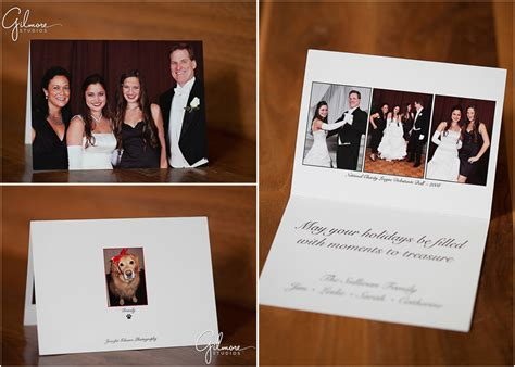 customized ncl holiday press printed cards gilmore