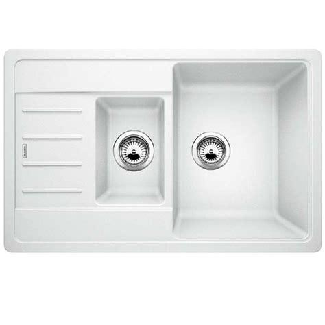 Blanco Silgranit Sinks Uk by Blanco Legra 6 S White Silgranit Sink Kitchen Sinks Taps