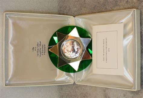 value of franklin mint 1974 christmas ornament iguide net