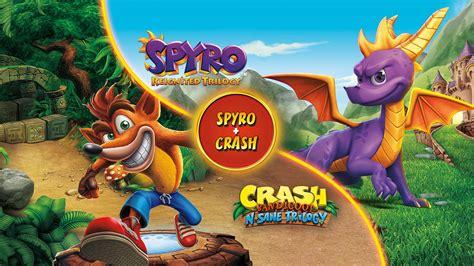 spyro crash remastered game bundle  xbox