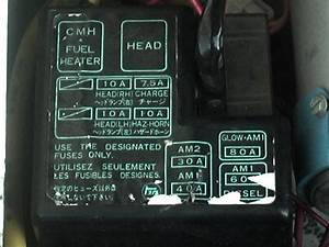 1986 4runner Melted Engine Fuse Box  Block Questions