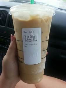 Starbucks - Venti, Iced Coffee, Sugar-Free Caramel Syrup ...
