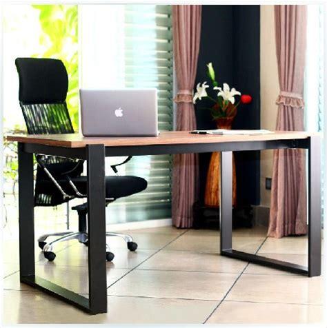 all solid wood desk minimalist modern simple scandinavian