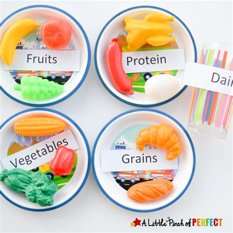 nutrition for preschool children science for learning about the 5 food groups 440