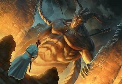 L5r Naga Legend Five Dark Rings Fantasy
