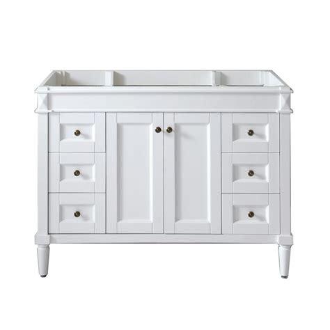 48 inch kitchen cabinets virtu usa 48 in w bath vanity cabinet only in 3916