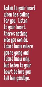 Roxette #songs ... Heart Lyrics Quotes
