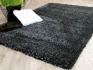 Teppich Langflor Grau : hochflor langflor shaggy teppich luxury anthrazit teppiche hochflor langflor teppiche schwarz ~ Orissabook.com Haus und Dekorationen