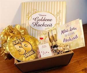 Geschenke Für Hochzeit : goldene hochzeit geschenke set goldhochzeit geschenkideen geldgeschenk gold paar ebay ~ Frokenaadalensverden.com Haus und Dekorationen