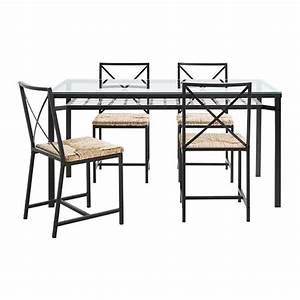 Table A Manger En Verre Ikea : gran s table et 4 chaises ikea ~ Preciouscoupons.com Idées de Décoration