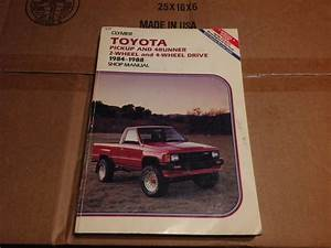 Toyota Pickup And 4runner  1984