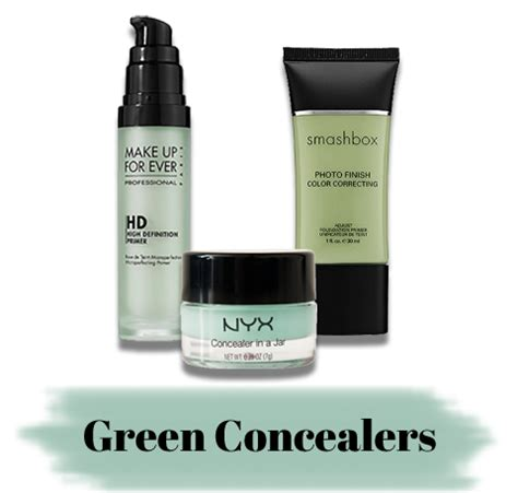 what color concealer should i use how to use green makeup concealer makeup vidalondon