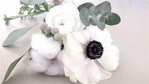 Bouquet Fleur De Coton : la petite boutique de fleurs mariage d 39 hiver pour marion et xavier douceur de fleurs blanches ~ Teatrodelosmanantiales.com Idées de Décoration
