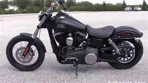 New 2015 Harley Davidson Street Bob Motorcycle Specs