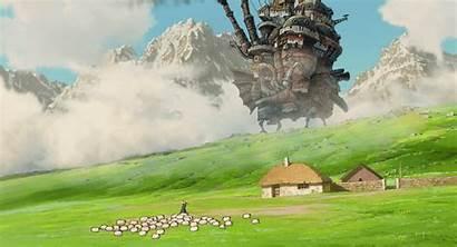 Castle Moving Ghibli Studio Miyazaki Anime Hayao