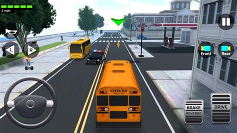 super high school bus driving simulator    android apk