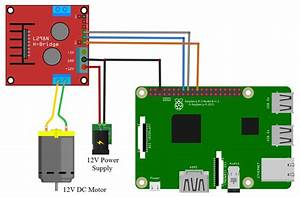 Raspberry Pi How To Control A Dc Motor With An L298n Driver
