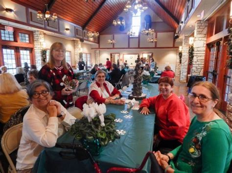 big stone lodge holds christmas luncheon  paper