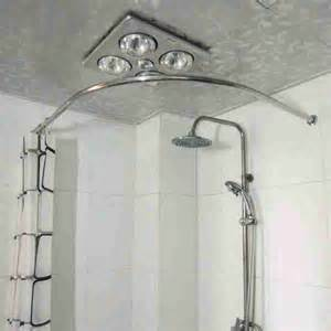 Shower Curtain Rod Corner by Corner Tub Shower Curtain Rod Decor Ideasdecor Ideas