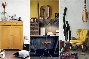 Deco Jaune Moutarde : la couleur jaune moutarde pour un int rieur chaleureux ~ Melissatoandfro.com Idées de Décoration