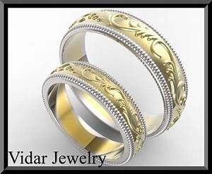 custom made wedding ring set vidar jewelry unique With custom made wedding ring sets