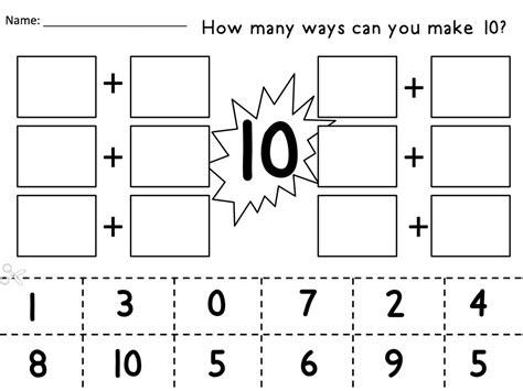 making 10 mrs branciforte s first graders