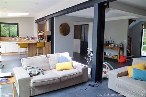 bureau scandinave vintage aménagement et agrandissement d 39 une maison aux accents