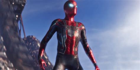 infinity war spider man  knighted   avenger
