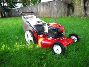 Lawn Mower Mowing Grass