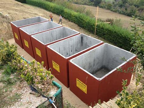 Vasche Raccolta Acqua by Cisterne Acqua Piovana Grondaie Cisterne Per Acqua Piovana