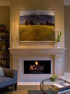 Large, Piece, Over, Fireplace, Stunning