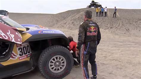 Video: Līderu drāmas Dakaras rallijā - Motoru sports - Sportacentrs.com